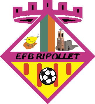 Escudo de A.D. E.F.B. RIPOLLET (CATALUÑA)