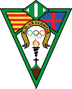 Escudo de A.D. LA LLÀNTIA (CATALUNHA)