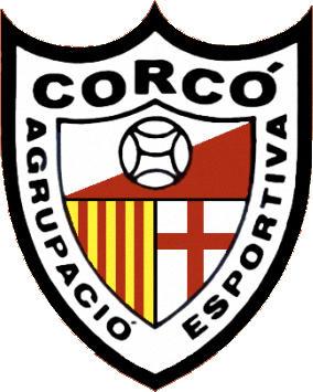 Escudo de A.E. CORCÓ (CATALUÑA)