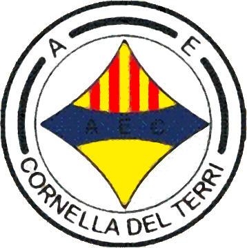 Escudo de A.E. CORNELLÁ DEL TERRI (CATALUÑA)
