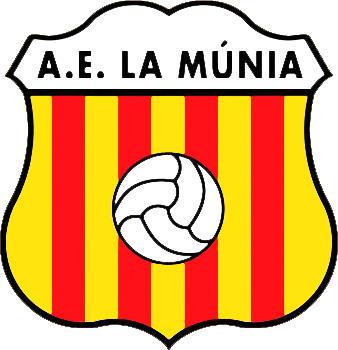 Escudo de A.E. LA MÚNIA (CATALUÑA)