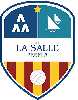 Escudo de A.E. LA SALLE PREMIÁ (CATALUNHA)