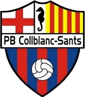 Escudo de A.E. PB COLLBLANC-SANTS (CATALUÑA)