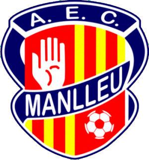 Escudo de A.E.C. MANLLEU  (CATALUÑA)