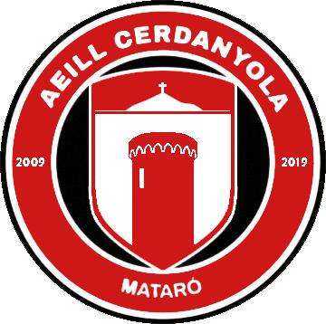 Escudo de A.E.LL. CERDANYOLA (CATALUÑA)