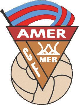 Escudo de AMER C.F. (CATALUÑA)