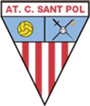 Escudo de ATLÉTIC C. SANT POL (CATALUÑA)
