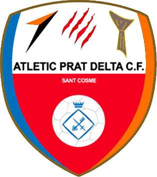 Escudo de ATLÉTIC PRAT DELTA C.F. (CATALUNHA)