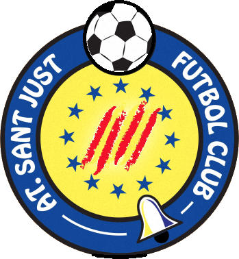 Escudo de ATLÉTIC SANT JUST F.C. (CATALUÑA)