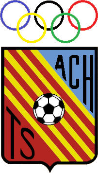 Escudo de ATLÉTICO C. HOSPITALENSE (CATALUÑA)