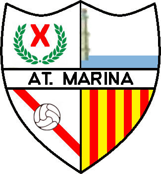 Escudo de ATLÉTICO MARINA (CATALUÑA)