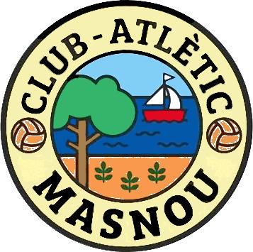 Escudo de C. ATLÈTIC MASNOU (CATALUÑA)