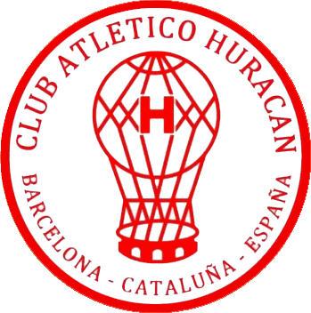 Escudo de C. ATLÉTICO HURACÁN DE BARCELONA (CATALUÑA)