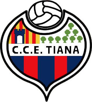Escudo de C.C.E. TIANA (CATALUÑA)