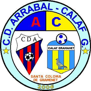 Escudo de C.D. ARRABAL-CALAF G. (CATALUÑA)
