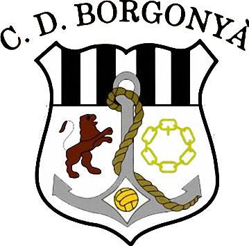 Escudo de C.D. BORGONYÀ (CATALUÑA)