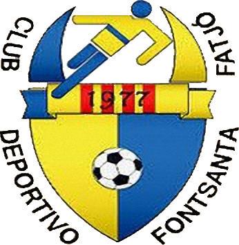 Escudo de C.D. FONTSANTA FATJÓ (CATALUNHA)