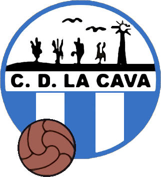 Escudo de C.D. LA CAVA (CATALUÑA)