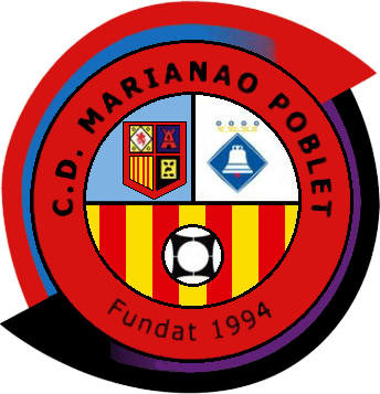 Escudo de C.D. MARIANAO POBLET (CATALUÑA)