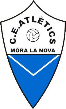 Escudo de C.E. ATLÈTICS MÓRA LA NOVA (CATALUÑA)