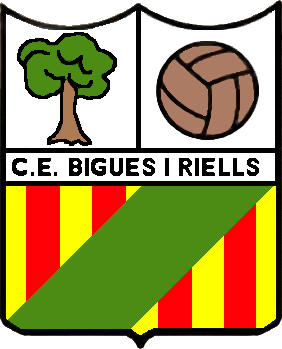 Escudo de C.E. BIGUES I RIELLS (CATALUÑA)