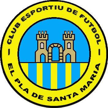 Escudo de C.E. EL PLA DE SANTA MARÍA (CATALUÑA)