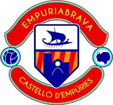 Escudo de C.E. EMPURIABRAVA CASTELLÓ (CATALUÑA)