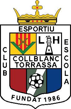 Escudo de C.E. ESCOLA COLLBLANC TORRASSA (CATALUÑA)