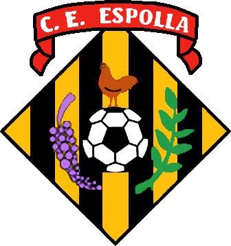 Escudo de C.E. ESPOLLA (CATALUÑA)