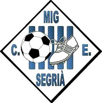Escudo de C.E. MIG SEGRIÀ (CATALUÑA)