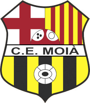 Escudo de C.E. MOIÀ (CATALUÑA)