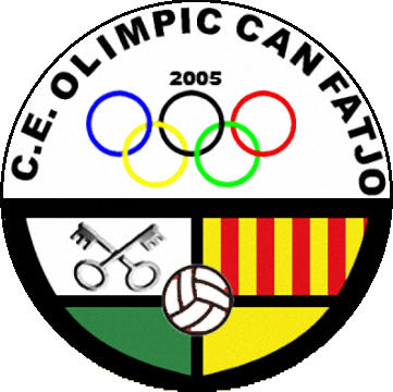Escudo de C.E. OLIMPIC CAN FATJÓ (CATALUÑA)