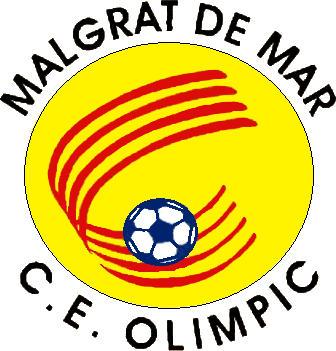 Escudo de C.E. OLIMPIC MALGRAT (CATALUÑA)
