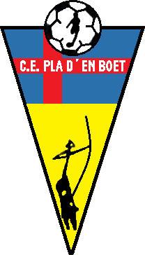 Escudo de C.E. PLA D'EN BOET (CATALUÑA)