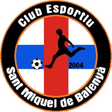 Escudo de C.E. SANT MIQUEL DE BALENYÁ (CATALUÑA)