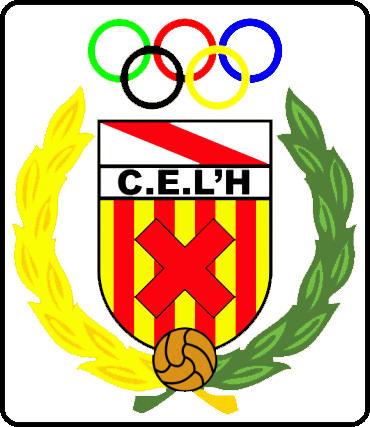 Escudo de C.E.L´HOSPITALET  (CATALUNHA)
