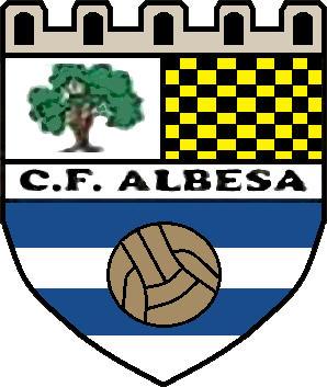 Escudo de C.F. ALBESA (CATALUÑA)
