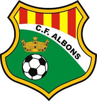 Escudo de C.F. ALBONS (CATALUÑA)