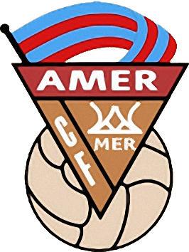 Escudo de C.F. AMER (CATALUNHA)
