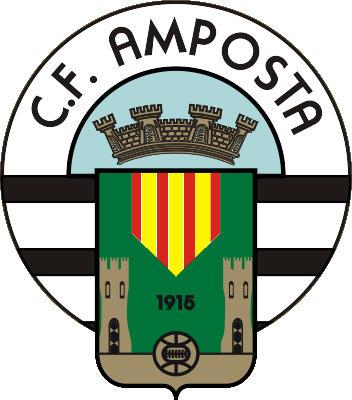 Escudo de C.F. AMPOSTA  (CATALUNHA)