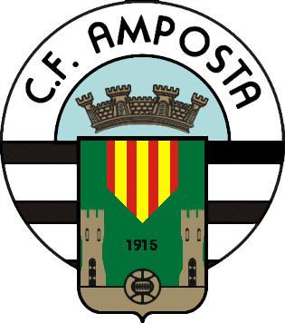 Escudo de C.F. AMPOSTA (CATALUÑA)