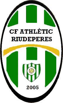 Escudo de C.F. ATHLÈTIC RIUDEPERES (CATALUÑA)
