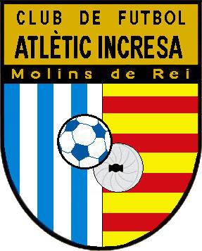 Escudo de C.F. ATLÈTIC INCRESA (CATALUÑA)