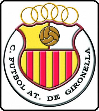 Escudo de C.F. ATLÉTIC DE GIRONELLA (CATALUÑA)