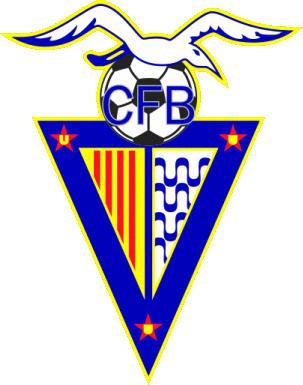 Escudo de C.F. BADALONA  (CATALUNHA)