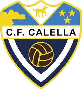 Escudo de C.F. CALELLA (CATALUÑA)