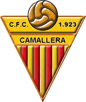 Escudo de C.F. CAMALLERA (CATALUÑA)