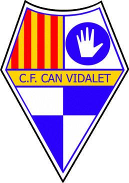 Escudo de C.F. CAN VIDALET (CATALUÑA)