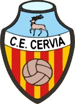 Escudo de C.F. CERVIÁ (CATALUÑA)
