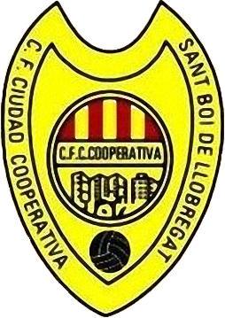 Escudo de C.F. CIUDAD COOPERATIVA (CATALUNHA)
